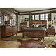 Liberty 4-Piece Rocky Mountain Storage Bedroom Set in Whiskey Brown