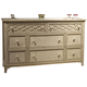 Liberty Cape Cottage Drawer Dresser in Weathered White 662-BR31