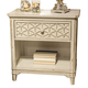 Liberty Cape Cottage Nightstand in Weathered White 662-BR61