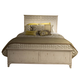 Liberty Cape Cottage King Panel Bed in Weathered White 662-BR-KPB