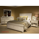 Liberty 4-Piece Cape Cottage Panel Bedroom Set in Weathered White