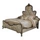 Aico Platine de Royale California King Panel Bed in Antique Platinum 09000CKPL3-101