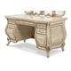 Aico Platine de Royale Vanity/Desk in Champagne 09058-201