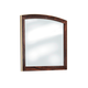 Lenmara Mirror in Deep Dark Red B247-36