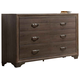 Liberty Hartly Six Drawer Dresser in Gray Wash 283-BR31