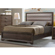 Liberty Hartly Twin Upholstered Bed in Gray Wash