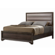 Liberty Hartly Full Upholstered Bed in Gray Wash