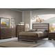 Liberty Hartly 4-Piece Upholstered Bedroom Set in Gray Wash