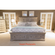 Liberty 4-Piece Highlands Storage Panel Bedroom Set in Gravel