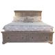 Liberty Highlands King Storage Bed in Gravel 727-BR-KSB