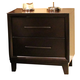 Liberty Hudson Square Two Drawer Nightstand in Espresso 365-BR62