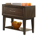 Liberty Hudson Square One Drawer Nightstand in Espresso 365-BR61