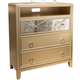 Liberty Beverly Boulevard Media Chest in Champagne Wash 732-BR45