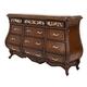 Aico Platine de Royale Dresser in Light Espresso 09050-229