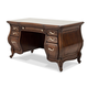 Aico Platine de Royale Vanity/Desk in Light Espresso 09058-229