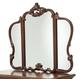 Aico Platine de Royale Vanity Mirror in Light Espresso 09068-229
