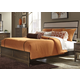 Liberty Hudson Square Queen Panel Bed in Linen/Espresso