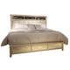 Liberty Beverly Boulevard King Panel Bed in Champagne Wash 732-BR-KPB
