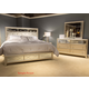 Liberty 4-Piece Beverly Boulevard Panel Bedroom Set in Champagne Wash