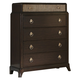 Liberty Manhattan 5-Drawer Chest in Sable & Champagne 736-BR41