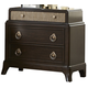 Liberty Manhattan Nightstand in Sable & Champagne 736-BR61