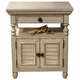 Liberty Covington Cottage II Chair Side Nightstand in Pebble White 393-BR62
