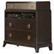 Liberty Manhattan Media Chest in Sable & Champagne 736-BR45