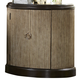 Liberty Manhattan Demilume Nightstand in Sable & Champagne 736-BR62