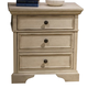 Liberty Covington Cottage II Three Drawer Nightstand in Pebble White 393-BR61