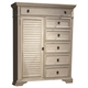 Liberty Covington Cottage II Door Chest in Pebble White 393-BR42