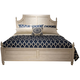 Liberty Covington Cottage II Queen Poster Bed in Pebble White
