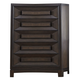 Liberty Midtown 5-Drawer Chest in Coffee Bean 743-BR41
