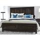 Liberty Midtown Queen Panel Bed in Coffee Bean 743-BR-QPB