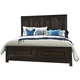 Liberty Midtown King Panel Bed in Coffee Bean 743-BR-KPB