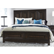 Liberty Midtown Queen Storage Bed in Coffee Bean 743-BR-QSB