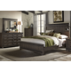Liberty 4-Piece Thornwood Hills Panel Bedroom Set in Rock Beaten Gray