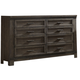 Liberty Thornwood Hills Drawer Dresser in Rock Beaten Gray 759-BR31