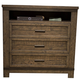 Liberty Thornwood Hills Media Chest in Rock Beaten Gray 759-BR45