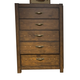 Liberty Deep Creek 5-Drawer Chest in Rustic Tobacco 788-BR41
