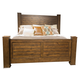 Liberty Deep Creek Queen Poster Bed in Rustic Tobacco 788-BR-QPS