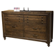 Liberty Catawba Hills Drawer Dresser in Peppercorn 816-BR31