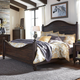Liberty Catawba Hills Queen Poster Bed in Peppercorn 816-BR-QPS