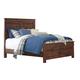 Hammerstead Queen Panel Bed in Brown B407-Q