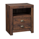 Hammerstead 1 Drawer Nightstand in Brown B407-91