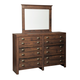 Hammerstead Bedroom Mirror in Brown B407-36