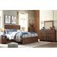 Hammerstead 4pc Panel Storage Bedroom Set in Brown