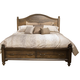 Liberty Catawba Hills Queen Storage Bed in Peppercorn 816-BR-QSB