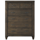 Liberty Modern Country 6-Drawer Chest in Harvest Brown 833-BR41