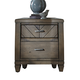 Liberty Modern Country Nightstand in Harvest Brown 833-BR61