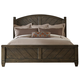 Liberty Modern Country Queen Poster Bed in Harvest Brown 833-BR-QPS